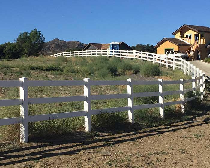 3 Rail Ranch Railing