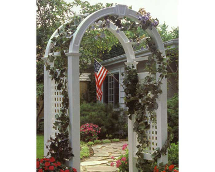 Arbor with Open Picket