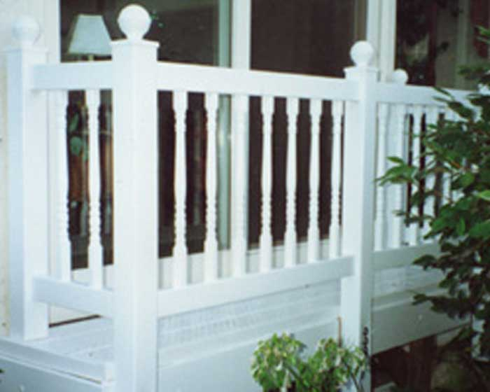Balcony Railing  with Balusters