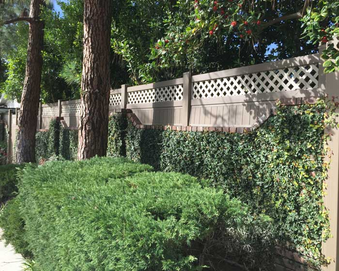 Wall Extension | Southland Vinyl Fences