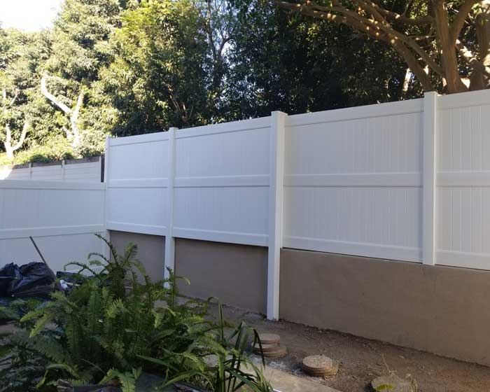 Wall Extension Southland Vinyl Fences