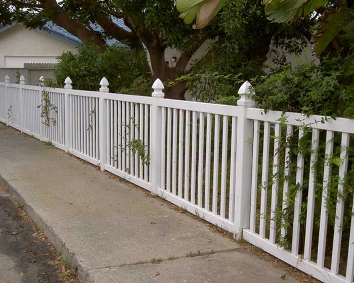 Closed Picket Fence