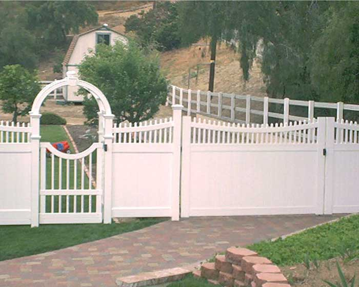 Custom Arbor and Gate