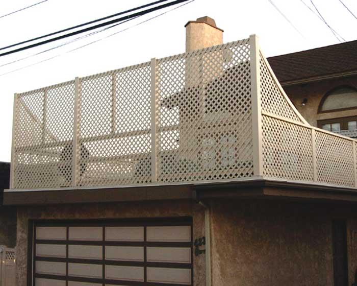 Lattice Balcony Rail