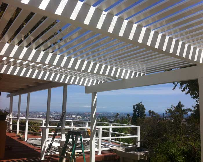 Open patio cover