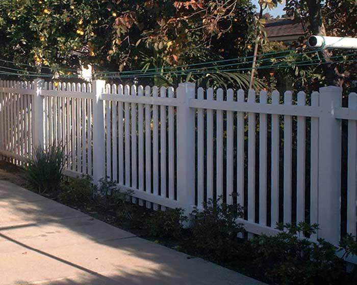 Open Picket Fence