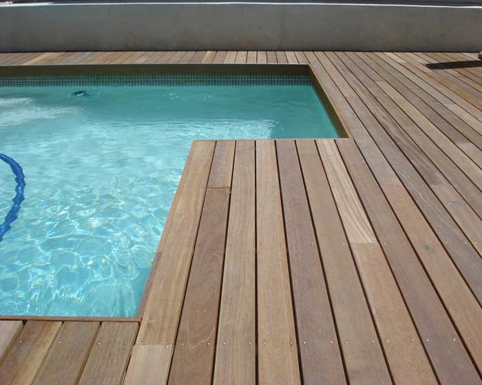 Pool Surrounding Deck