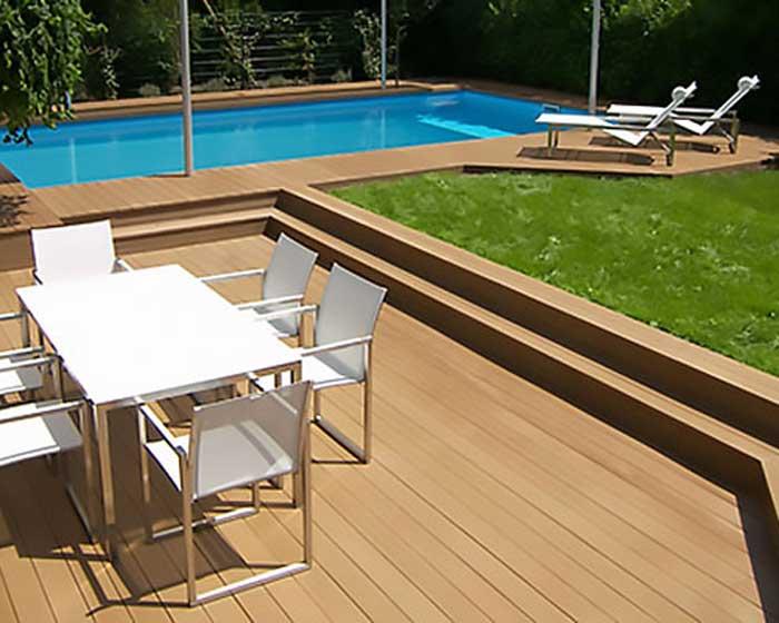 Resysta Pool Deck