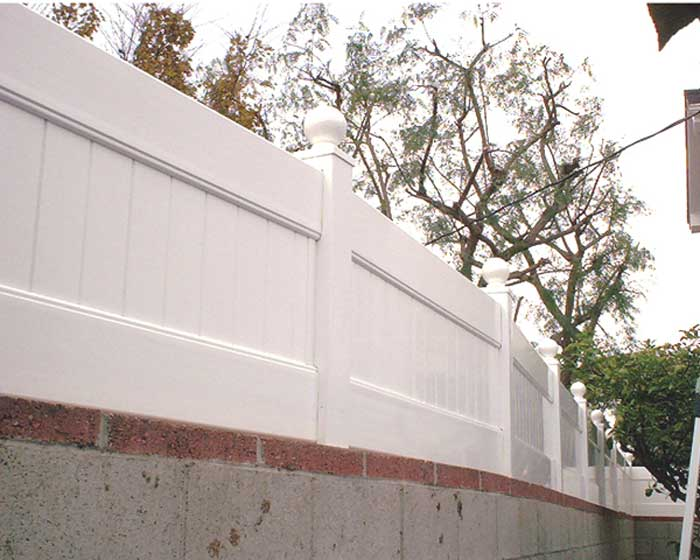 Solid Privacy Wall Extension